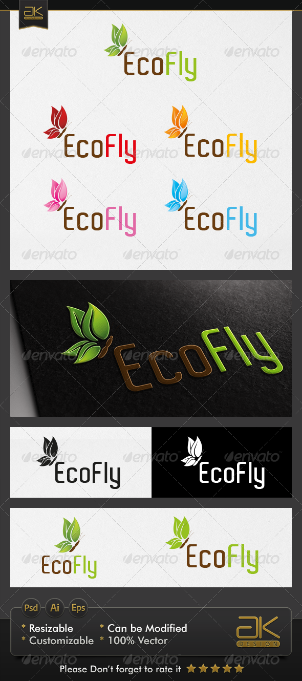 GraphicRiver Eco Fly 6045271