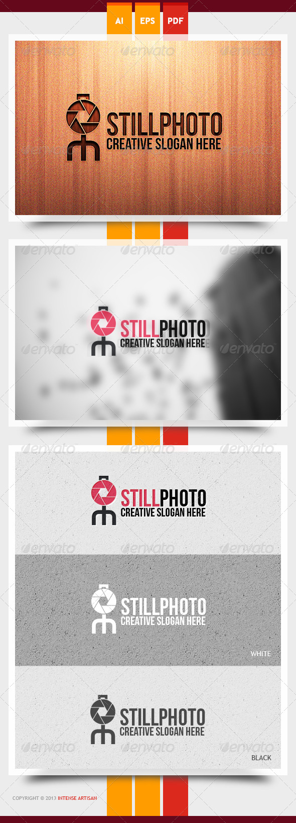GraphicRiver Still Photo Logo Template 6048353