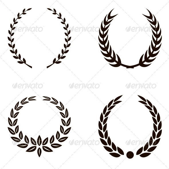 GraphicRiver Laurel Wreaths 6048358