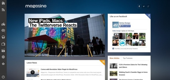ThemeForest Magazino Responsive WordPress Theme 5987592