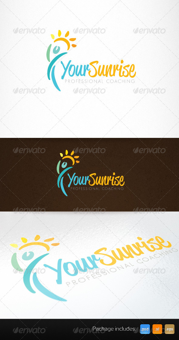 GraphicRiver Health Life Coaching Creative Logo 6048667
