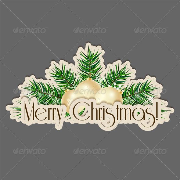 GraphicRiver Merry Christmas 6048735