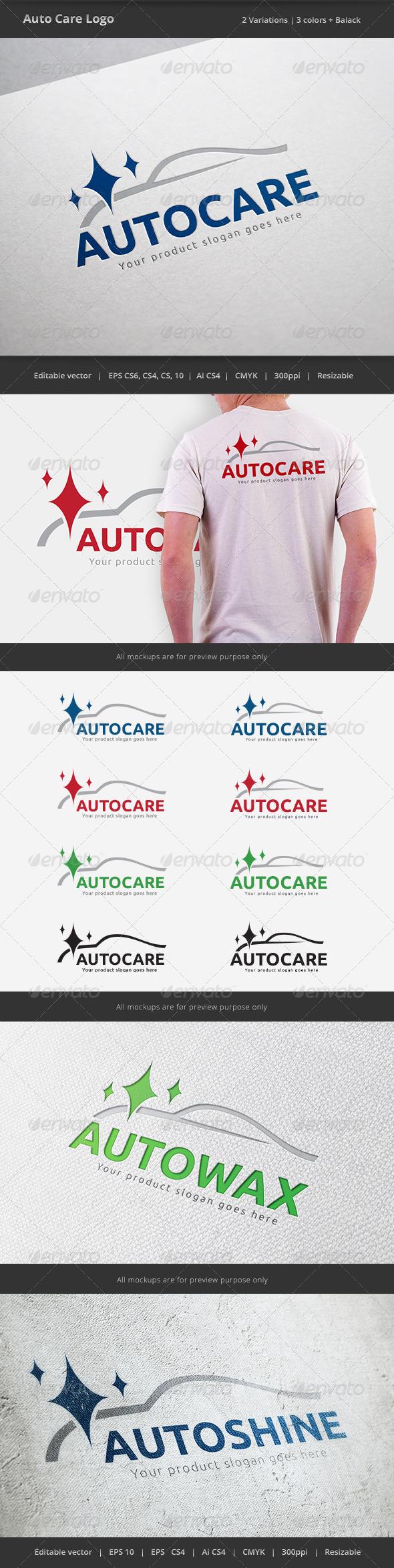 GraphicRiver Auto Car Care Logo 6048849