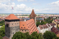Towers in Nuremberg Imperial Castle - PhotoDune Item for Sale