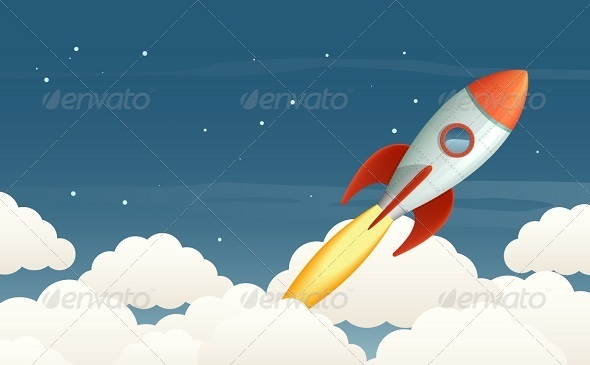 GraphicRiver Rocket 6044946