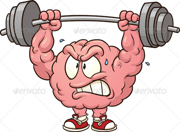 GraphicRiver Weightlifting Brain 6049214