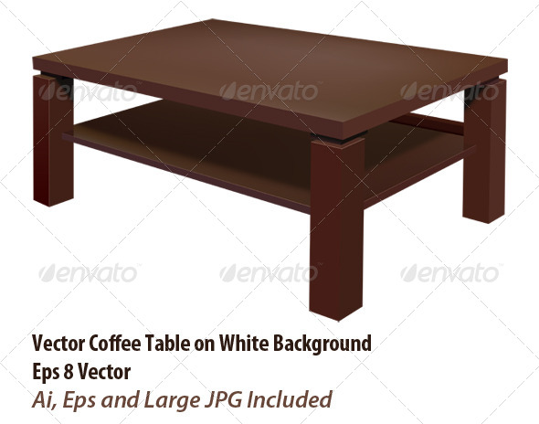 GraphicRiver Living Room Table 6049234
