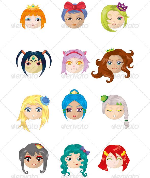 GraphicRiver Princesses 6047523