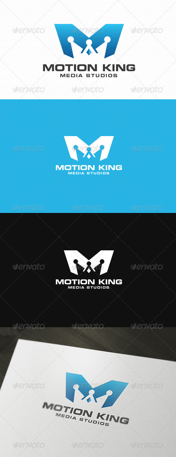 GraphicRiver King Motion Logo 6049433