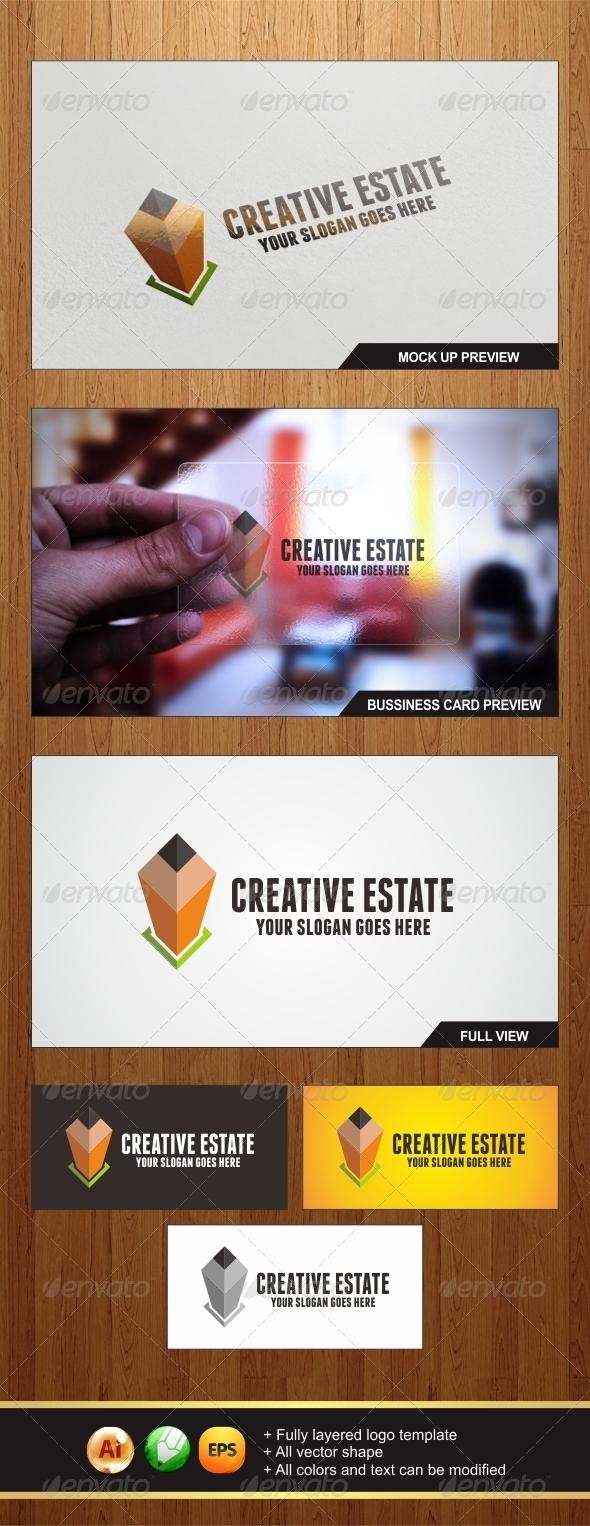 GraphicRiver Creative Estate Logo 6049522