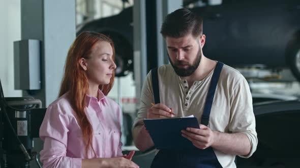 VideoHive Customer Consultation in Auto Service 19662817