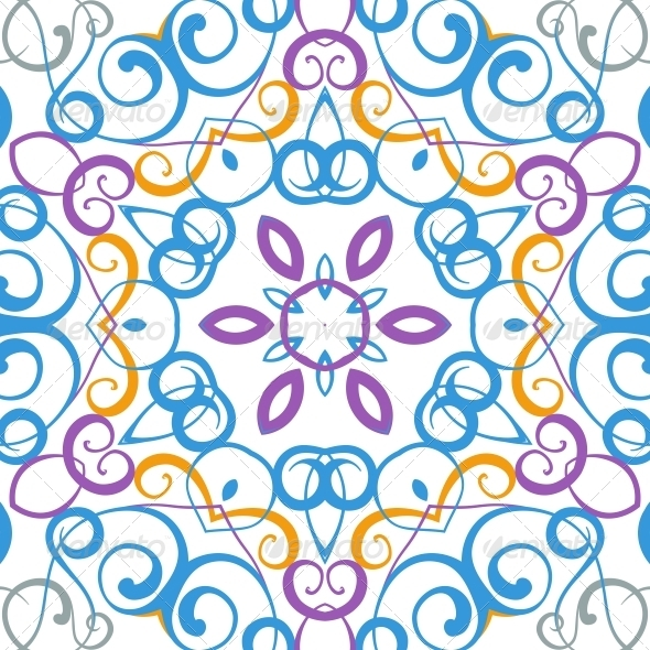 GraphicRiver Medallion Circular Design 6049627