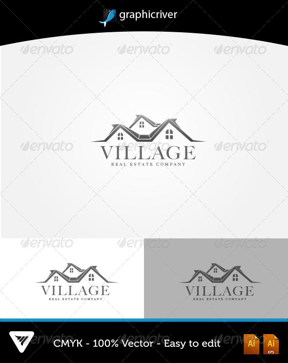 GraphicRiver Village Logo 6049833