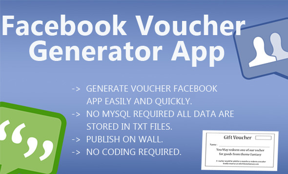 CodeCanyon Facebook Voucher Generator App 6033769
