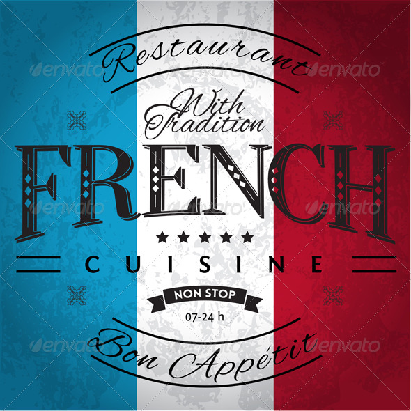 GraphicRiver French Cuisine 6050085
