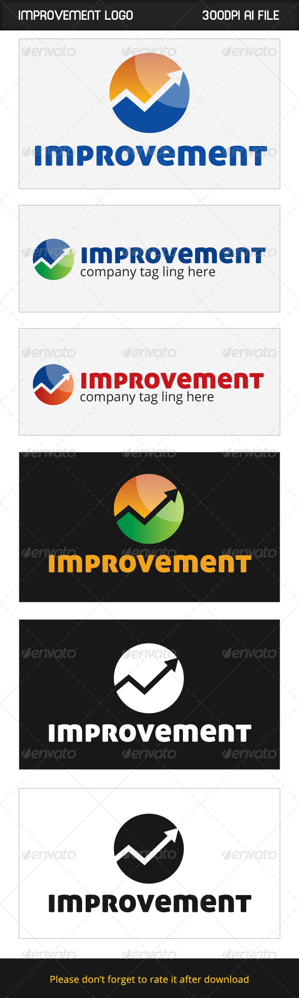GraphicRiver Improvement Logo 6050288