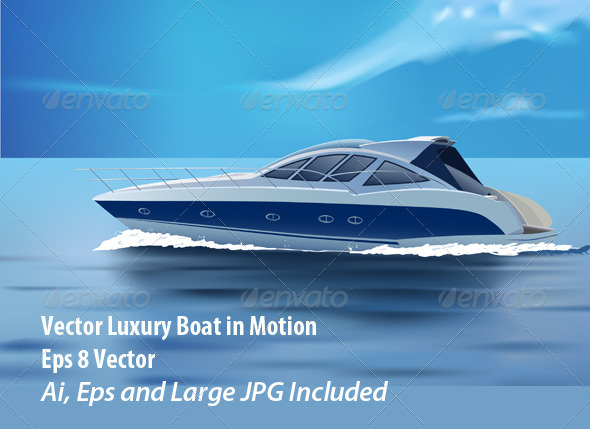 GraphicRiver Luxury Boat 6050530