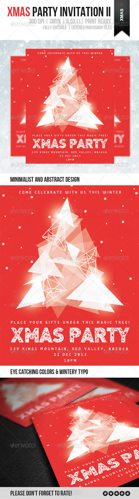 GraphicRiver xMas Party Invitation II 6050901