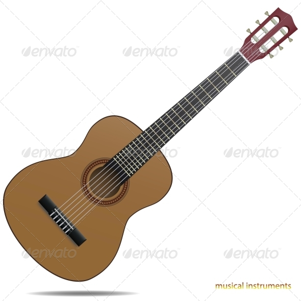 GraphicRiver Acoustic Guitar 6051127