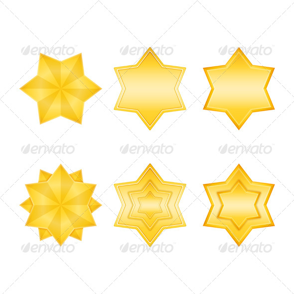 GraphicRiver Golden Stars 6051238