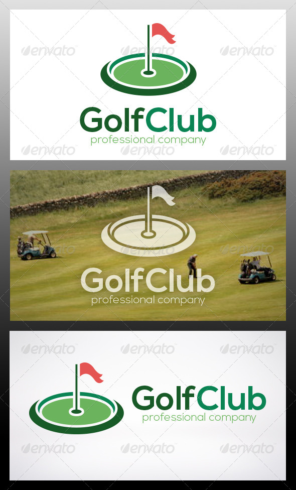 GraphicRiver Golf Logo Template 6051250