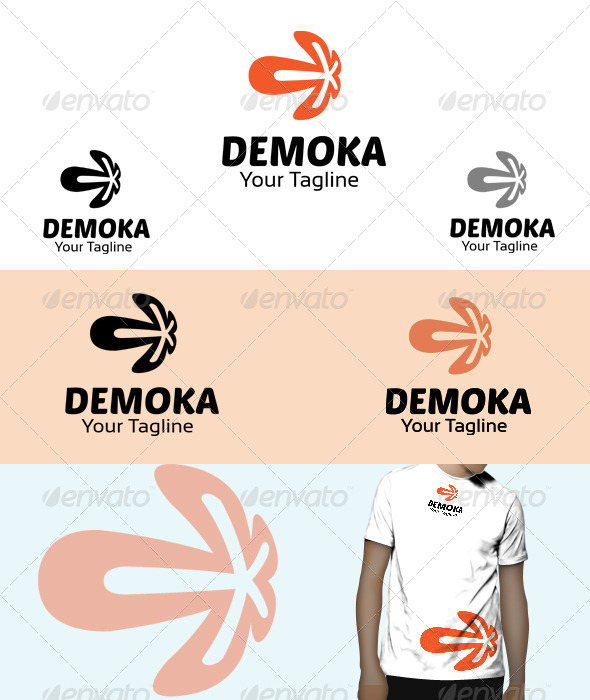 GraphicRiver Demoka Logo 6031326
