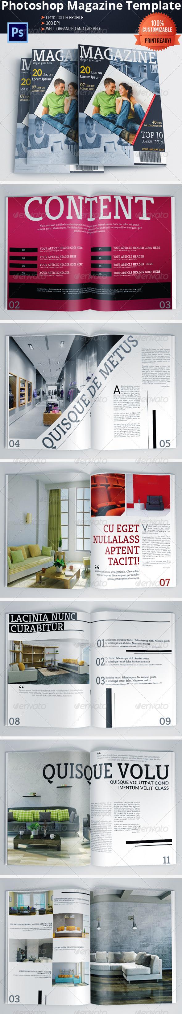 GraphicRiver Architecture and Interior Design Magazine Brochure 6051458