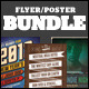Indie Flyers/Posters Bundle Vol. 2 - GraphicRiver Item for Sale