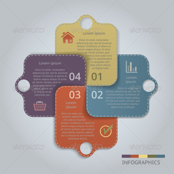 GraphicRiver Labeled Banners with 4 Options 6051895