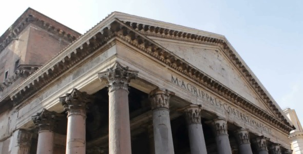Facade of Pantheon