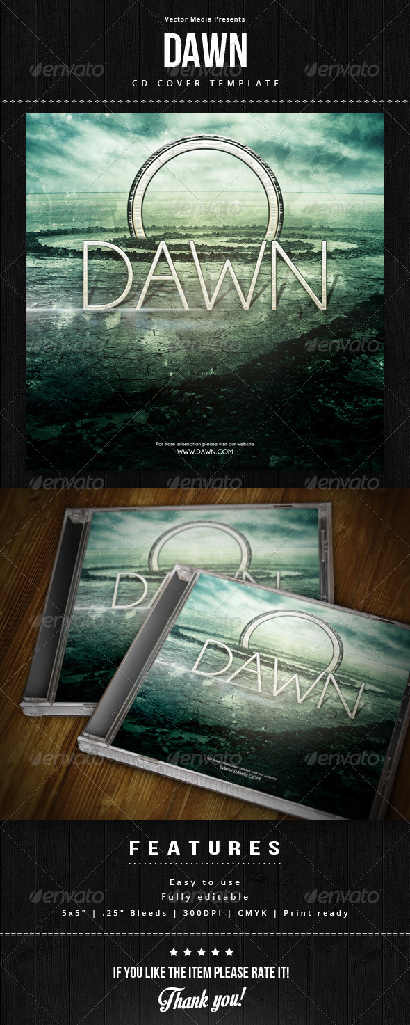 GraphicRiver Dawn Cd Cover 6051426