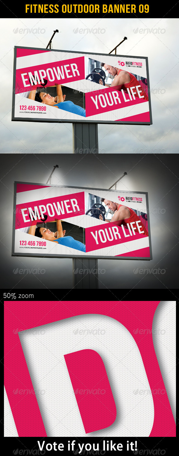 Fitness Outdoor Banner 09