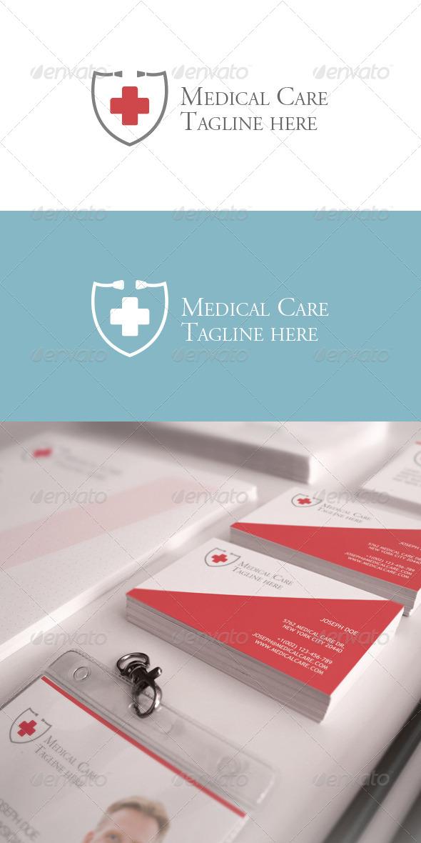 GraphicRiver Medical Care Logo 6052319