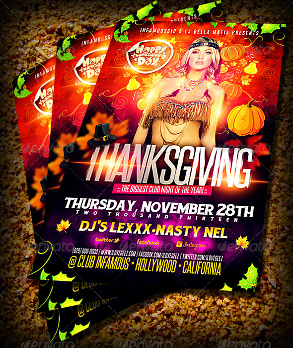 GraphicRiver Thanksgiving 6053190