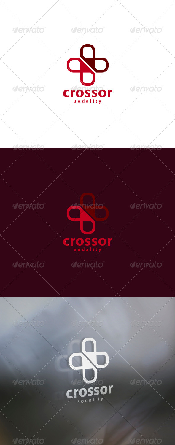 GraphicRiver Crossor Logo 6053528