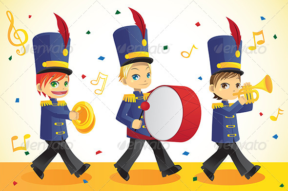 GraphicRiver Marching Band 6053598