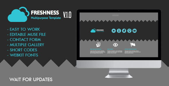 Freshness Muse Template