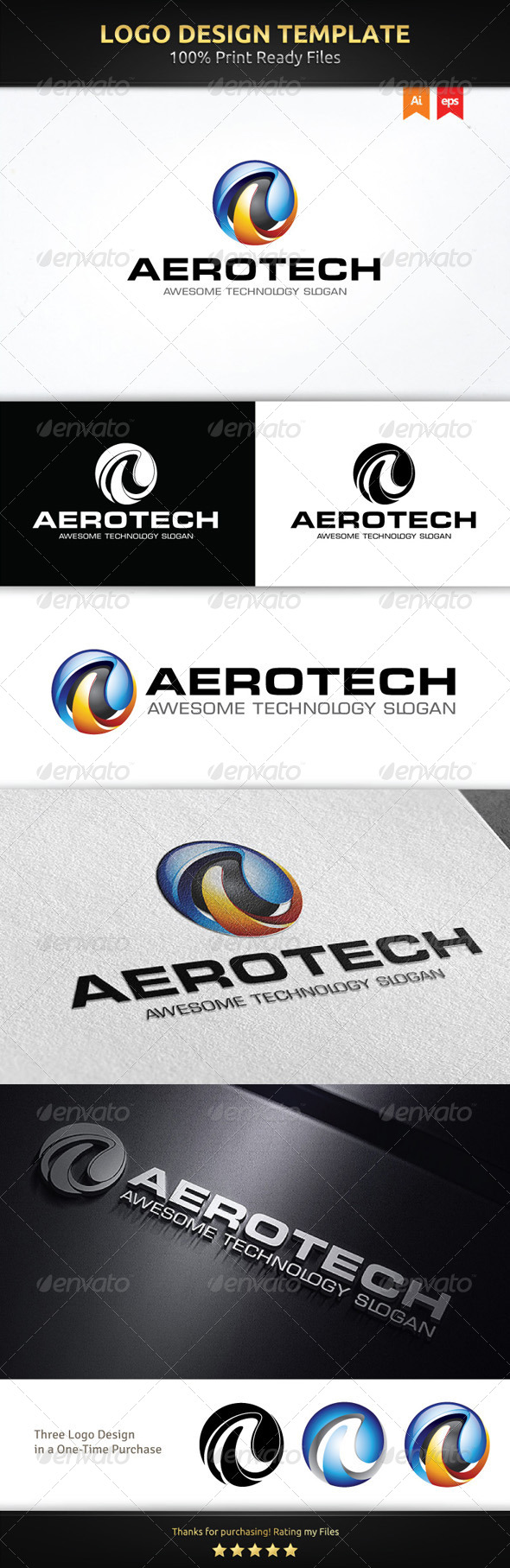 A Sphere Logo Template