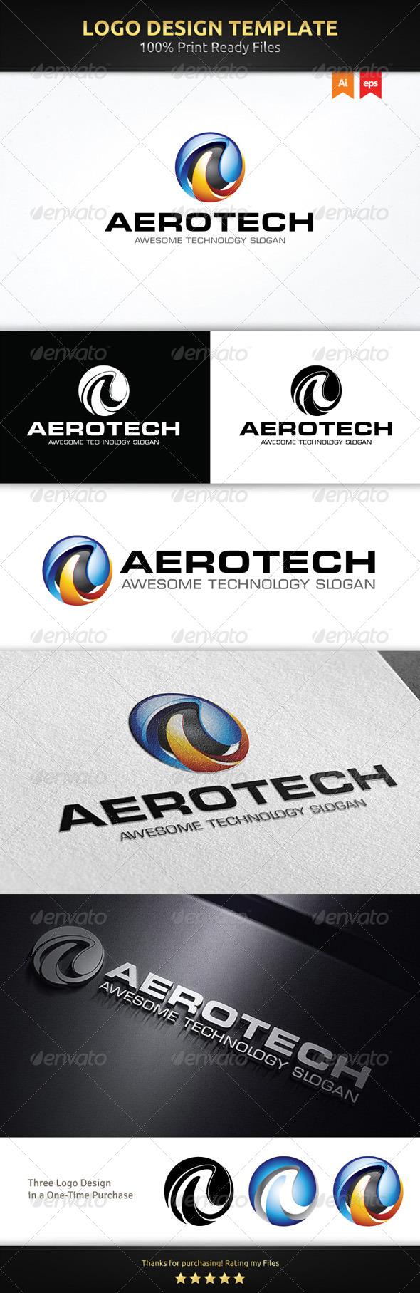 GraphicRiver A Sphere Logo Template 6053881