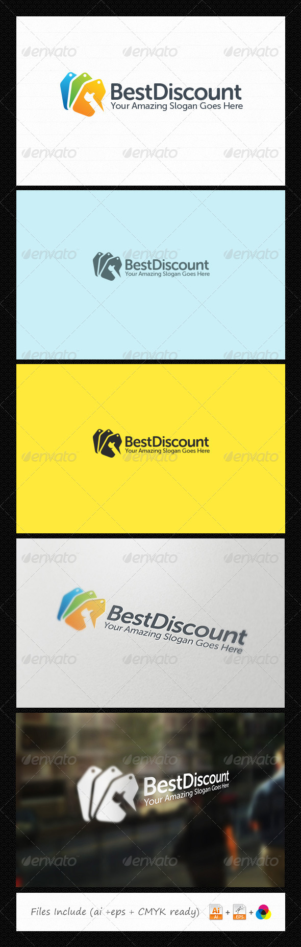 GraphicRiver Best Discount Logo 6054119