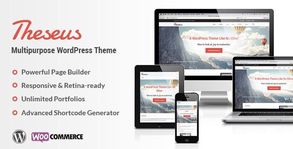ThemeForest Theseus Multipurpose WordPress Theme 5988413