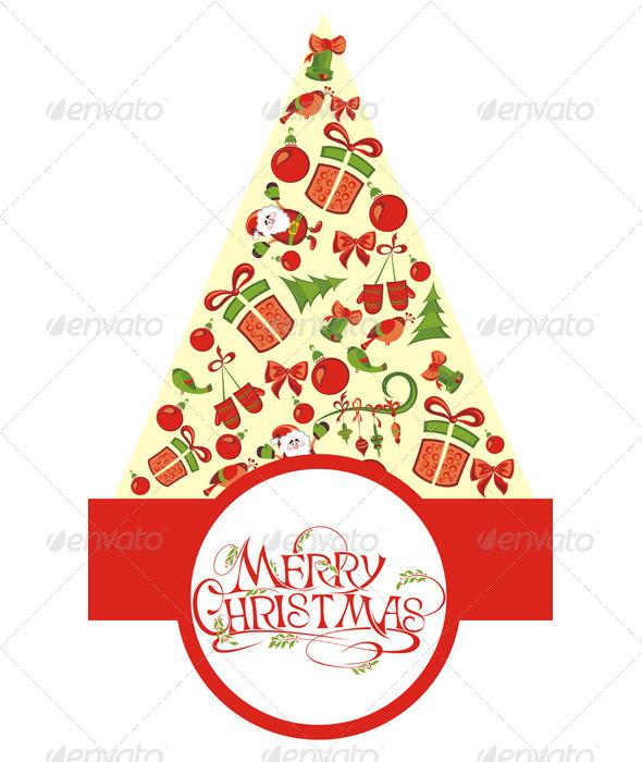 GraphicRiver Christmas Tree 6054427