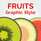 3 Sliced Fruits Graphic Styles - GraphicRiver Item for Sale