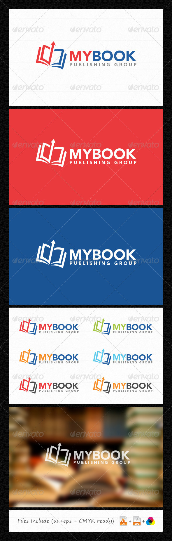 GraphicRiver Book Logo 6054899