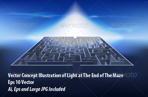 GraphicRiver Maze 6055349