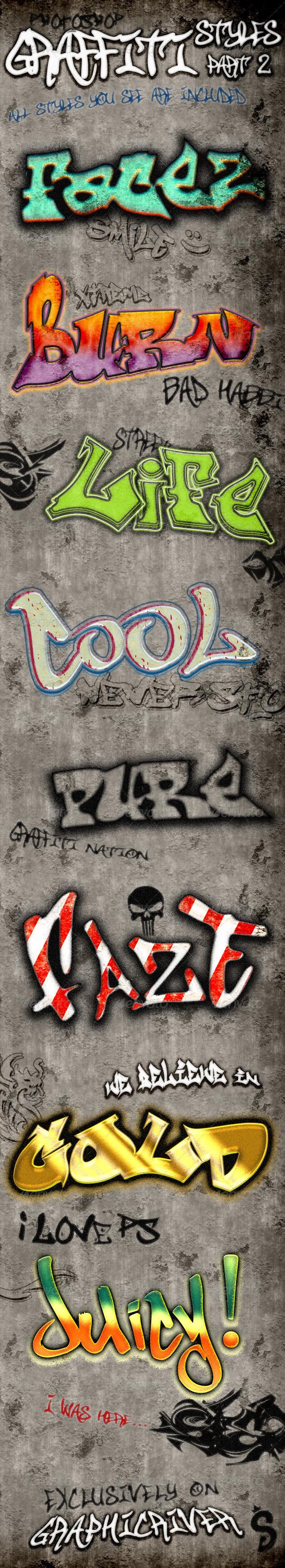 GraphicRiver Graffiti Styles Part 2 6055367