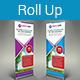 Multipurpose Business Roll-Up Banner Vol-07