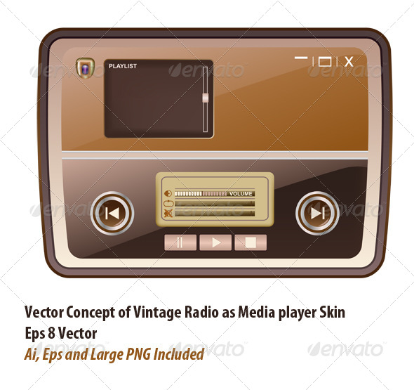 GraphicRiver Media Player Skin 6055463