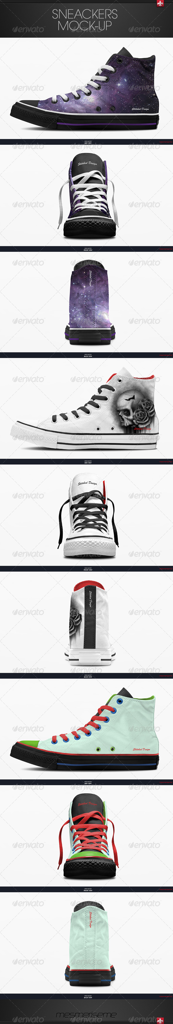 GraphicRiver Sneakers Mock-up 6055601