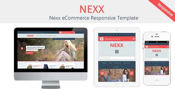 ThemeForest Nexx eCommerce Responsive Template 6017202